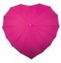 Deštník srdce růžový