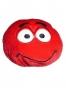 Drzý smajlík - červený
