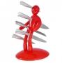 Hrdina kuchyně červený